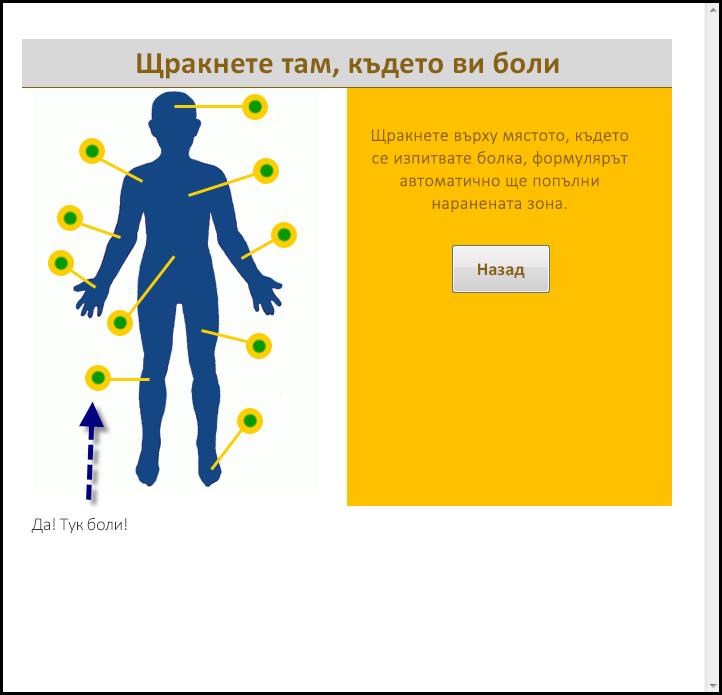 Запълнена радарна диаграма