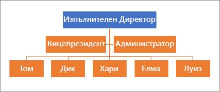 Типична йерархия
