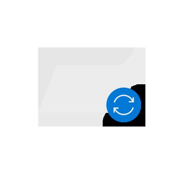 План за преместване на файлове в облака.