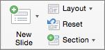 PowerPoint за Mac нов слайд