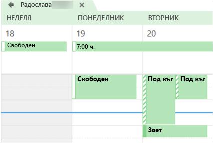 Какво ви календар прилича на лицето, който го сподели с.