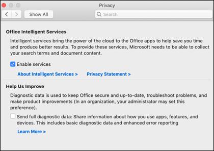 Разрешаване на интелигентни възможности на Mac