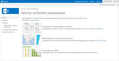 Шаблон на сайт за бизнес разузнаване