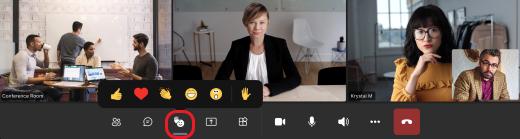 Реакции на живо iPad
