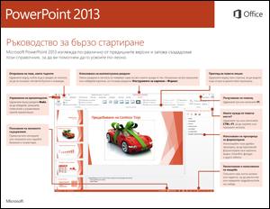 Ръководство за бързо стартиране в PowerPoint 2013