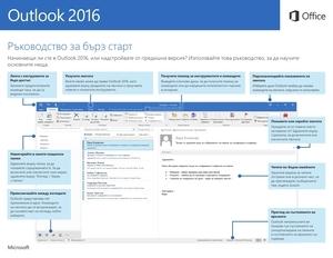 Ръководство за бърз старт в Outlook 2016 (Windows)