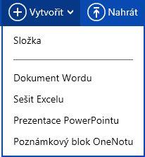 Vytvoření nového dokumentu