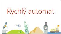 Šablona Rychlého automatu v PowerPointu 2016 vytvoří osnovu na téma podle vašeho výběru.