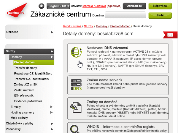 Active24 doporučených postupů – konfigurace-1-3