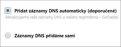 Přidat záznamy automaticky