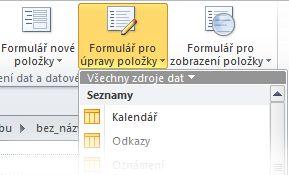 Formuláře v aplikaci SPD