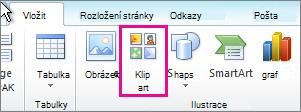 Vložení klipartu v Office 2010
