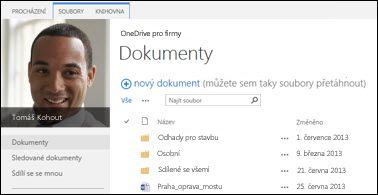 OneDrive pro firmy na SharePointu 2013