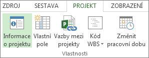 Obrázek tlačítka Informace o projektu