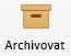 tlačítko Archiv na pásu karet Outlooku pro Mac