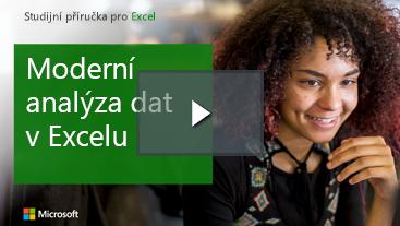 Žena usmívající se výukové Příručka pro Excel