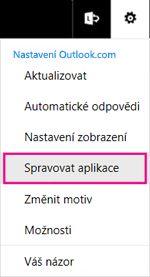 Správa aplikací