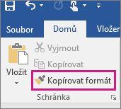 Kopírování formátu