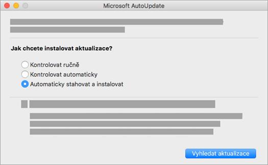 Microsoft AutoUpdate pro Mac
