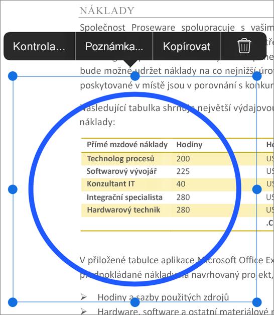 Úprava revize PDF