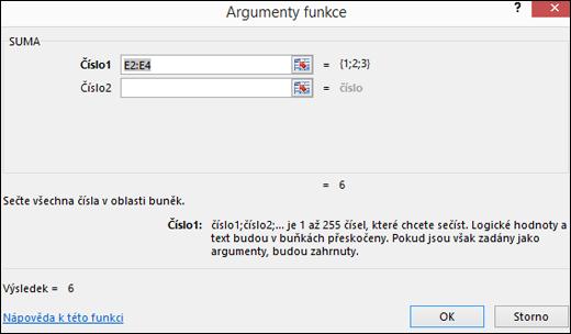 Excel – Průvodce funkcí