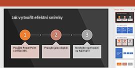 Funkce PowerPoint Designer