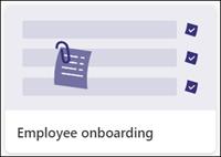 Šablona seznamů zprovoznění zaměstnanců