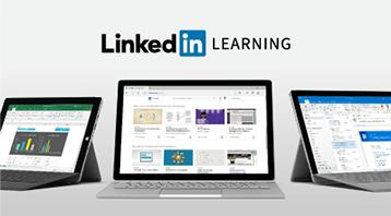 Bezplatná zkušební verze pro LinkedIn Learning