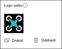 Změna loga webu služby SharePoint