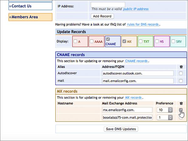 DomainMonster – doporučených postupů – konfigurace 2-3