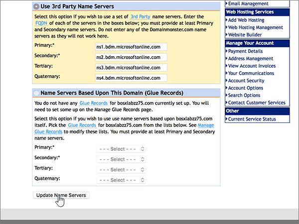 DomainMonster-doporučených postupů-změna delegování-1-4 při instalaci