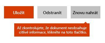 Možnost opětovného nahrání dokumentu na Docs.com