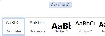 Přejmenování v Office Online