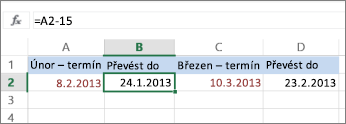 Výpočet kalendářního data
