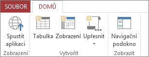 Uložení aplikace a její otevření v zobrazení prohlížeče