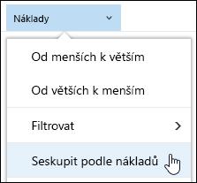 Knihovna dokumentů Seskupit podle zobrazení v Office 365