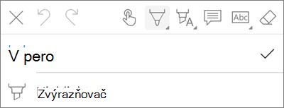 OneDrive pro iOS nabídce pera značky PDF