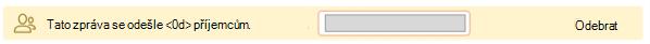 Tip pro e-mail velké cílové skupině