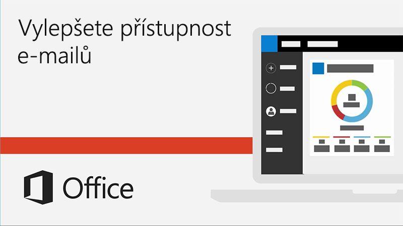 Video o vylepšení přístupnosti e-mailů