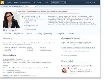 Profil osobního webu