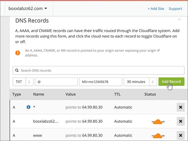 Cloudflare – doporučených postupů ověření-1-5