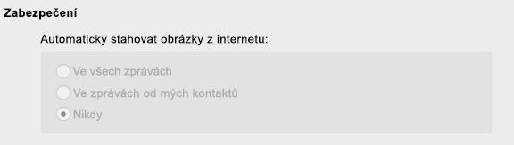 Spravovaná předvolba v Outlooku