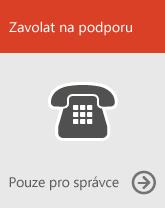 Zavolat na linku podpory (jenom správci)