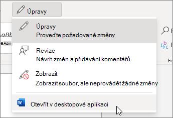 Otevřít v desktopové aplikaci