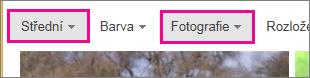 Výsledky hledání obrázků Bingem filtrované na středně velké fotky