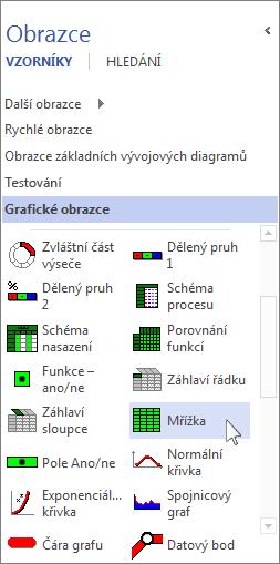 Vzorník grafických obrazců