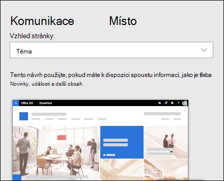 Použití návrhu na web služby SharePoint