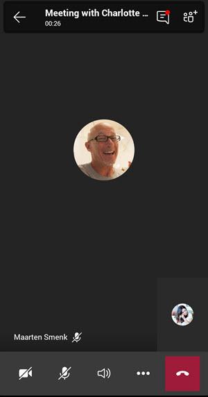 Okno v aplikaci Teams pro váš osobní život