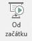Toto tlačítko zahájí prezentaci počínaje od prvního snímku prezentace