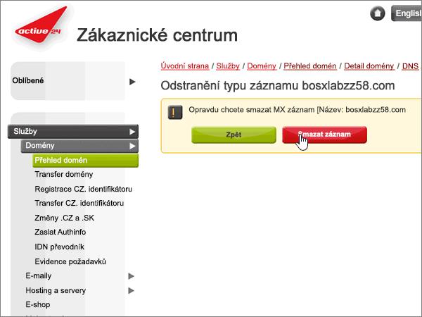 Active24 doporučených postupů – konfigurace-2-5